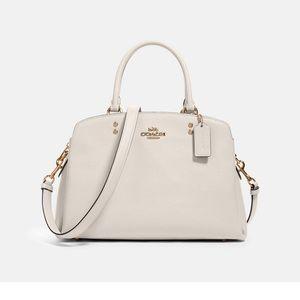 Coach satchel cream purse